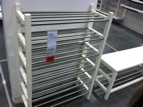 Tjusig shoe rack #ikea   Shoe rack, Ikea, Design