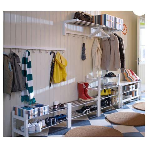 TJUSIG Shoe rack, white, 31 1/8    IKEA