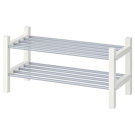 TJUSIG Shoe rack, white, 79 cm   IKEA