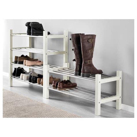 TJUSIG white, Shoe rack, 79 cm   IKEA