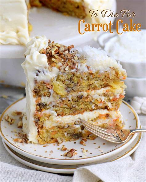 To Die For Carrot Cake   My Nana s Foolproof Recipe!