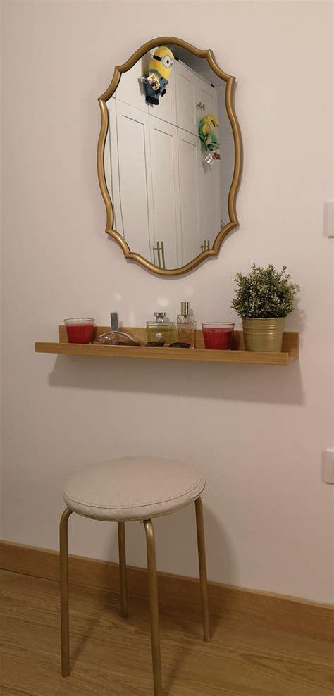 Tocador Diy Lowcost | Decorar paredes con espejos, Muebles ...