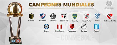 Toda a América do Sul comemora com seus clubes campeões do ...