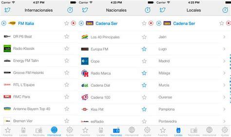 Toda la radio en tu iPhone con estas 5 aplicaciones