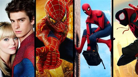 Todas las películas de Spider man ordenadas de mejor a ...