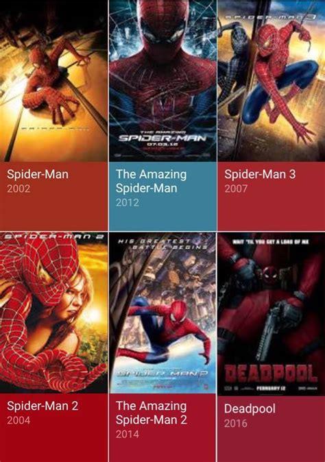 Todas las películas de Spiderman {...} Imagen ...