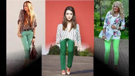 Todas las tendencias Como combinar el color verde en ropa ...