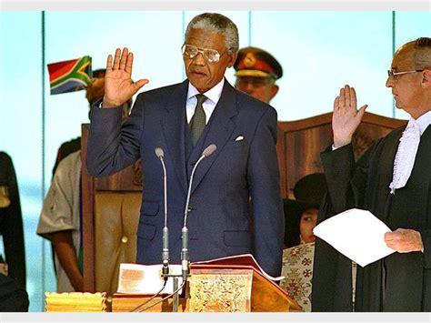 Today in History: Nelson Mandela sworn in as president of ...
