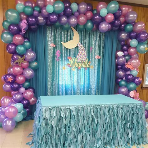 Today s backdrop #underthesea #partydecoration # ...