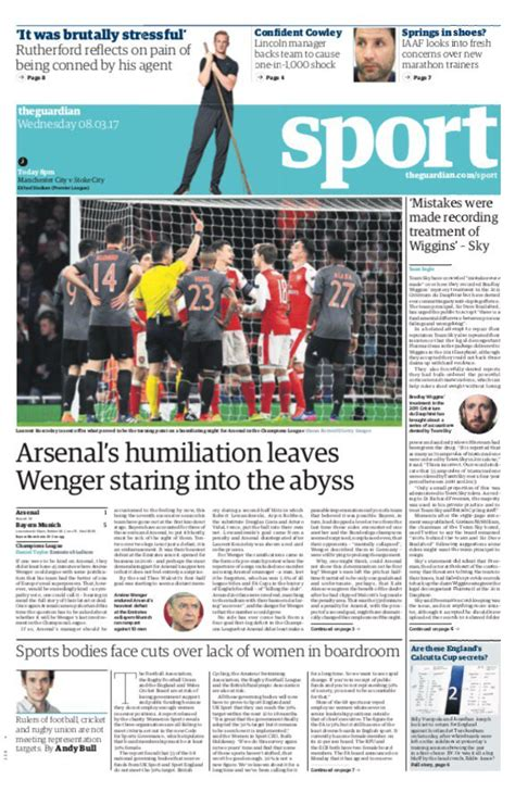 Today s English Newspaper Back Pages Make Grim Reading For ...