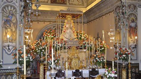 Todo listo para la procesión extraordinaria de la Virgen ...