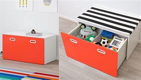 Todo ordenado con los baúles para juguetes Ikea y otras ...