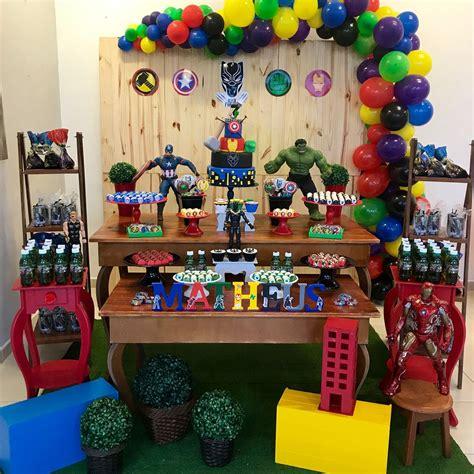 Todo para decorar Fiesta de los Avengers   Tendencias 2019