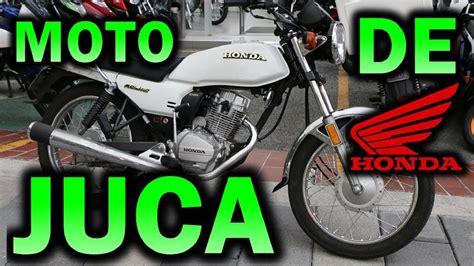 TODO SOBRE LA MOTO DE JUCA HONDA CGL 125 TOOL | Review a ...