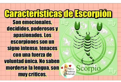 Todo sobre tu signo: Caracteristicas del signo Escorpion