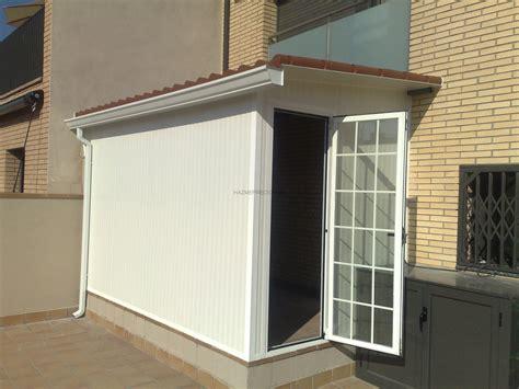 Todo tipo de cerramientos en terrazas o armarios de ...