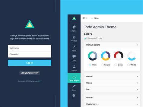 Todo   Wordpress Admin Theme by flatfull on Dribbble