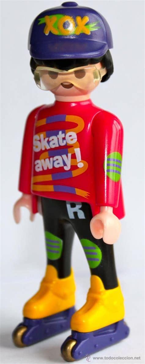 todocoleccion: Figura Playmobil patinador. | Playmobil
