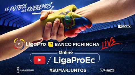 Todos a donar en la Liga Pro Banco Pichincha Live | Cancha ...