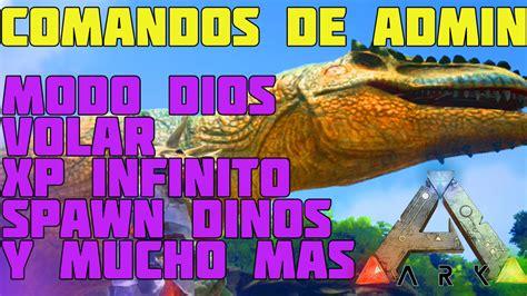 TODOS LOS COMANDOS ADMIN IMPORTANTES   ARK Survival ...