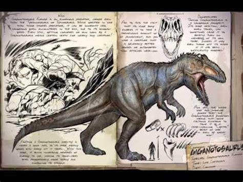 Todos Los Dinosaurios De :ARK SURVIVAL EVOLVED   YouTube