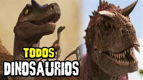TODOS LOS DINOSAURIOS DE DISNEY DINOSAURIO   YouTube