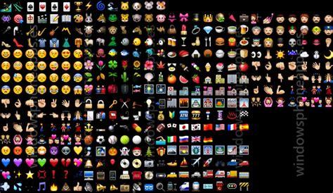 Todos los emoticonos disponibles en WhatsApp para Windows ...