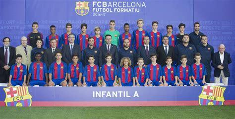 Todos los equipos de la cantera del FC Barcelona 2016 17