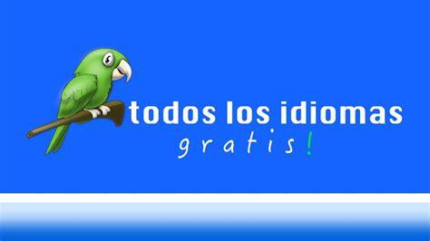 todos los idiomas gratis  ingles español  trabajo ...