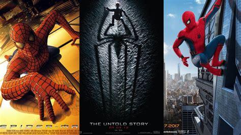 Todos los posters de las películas de Spider Man   YouTube