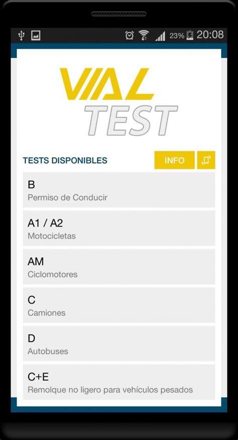 TodoTest, los test de la dgt para hacerlos desde Android