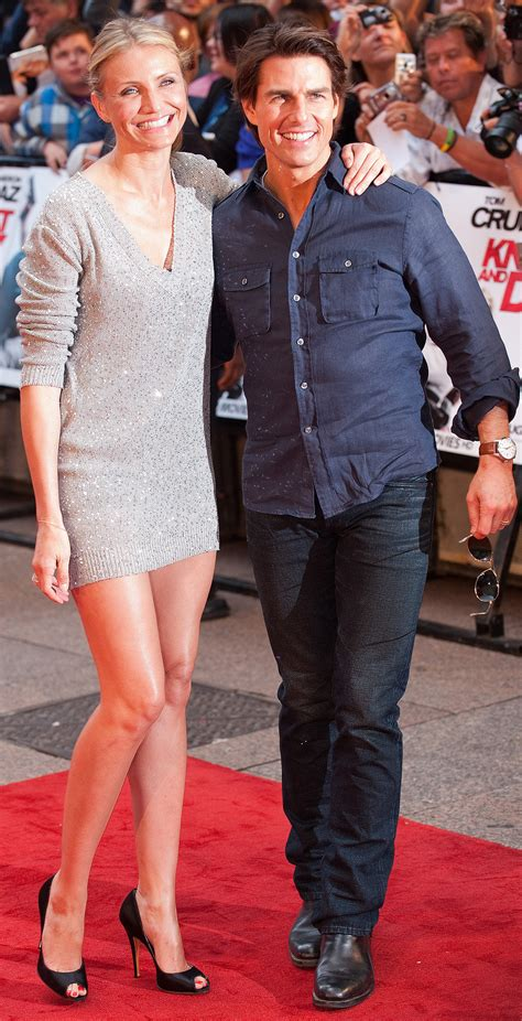 Tom Cruise & Cameron Diaz In London: How Is He So Tall ...