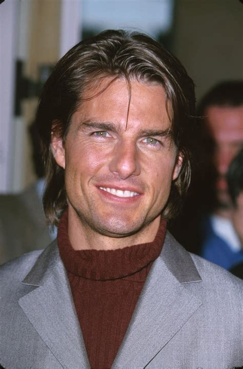 Tom Cruise had long hair for the Academy Awards in March ...