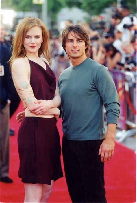 Tom Cruise stepped onto the red carpet with Nicole Kidman ...