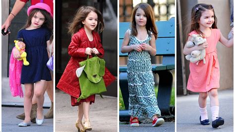 Tom Cruise's Daughter Suri Cruise | 2018 | Cute Moments ...