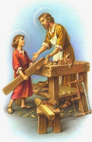 Toma de Horas: El Santo Carpintero.