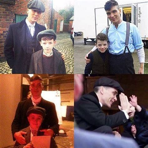 tommy shelby and his son charlie | Ünlüler