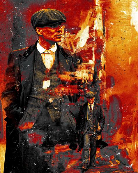 Tommy Shelby design by me : PeakyBlinders