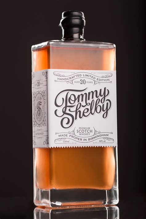 Tommy Shelby Whiskey on Behance