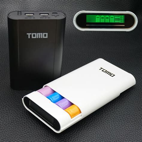 TOMO V8 4 Intelligent Portable Display Power Bank Box ...