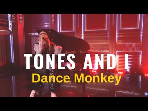 Tones and I [ Dance Monkey  U.S. TV Debut   Live on Jimmy ...
