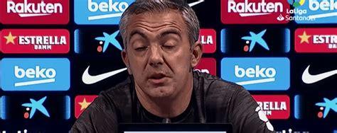 Toni Amor  LEGANÉS  tras la derrota contra el BARÇA  2 0 ...