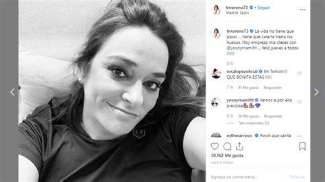 Toñi Moreno se prepara para su embarazo
