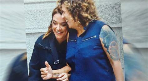 Toñi Moreno y Rosana no ocultan su amor: se abrazan y ...