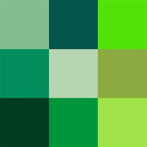 Tonos de verde con nombre   Imagui