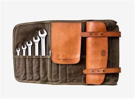 Tool roll by DEUSxMAKR1 | Leather tool roll, Tool bag ...