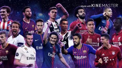 TOP 10   ARTILHEIROS DA CHAMPIONS LEAGUE 2018/2019 ...