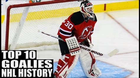 Top 10 Best Goalies in NHL History   YouTube