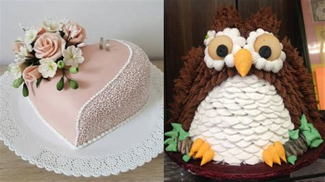 TOP 10 CAKES DECORATING   Most Satisfying Cake Decorating ...