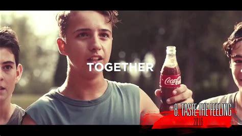 Top 10 Coca cola Commercials   YouTube